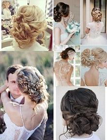 upięcie na ślub :)