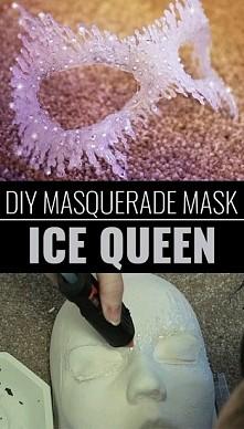 maska królowej lodu