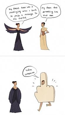 Katniss Everdeen i Johanna Mason