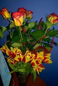 kwiatki#róże#tulipany#piękne#