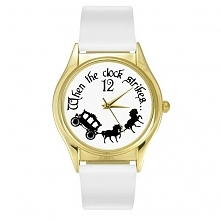 Zegarek Księżniczka Biały