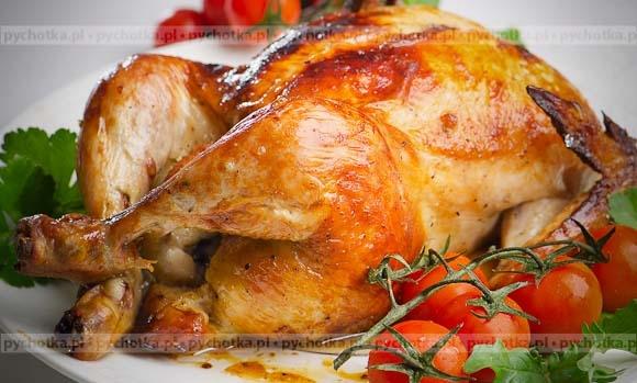 Kurczak nadziewany mięsem mielonym