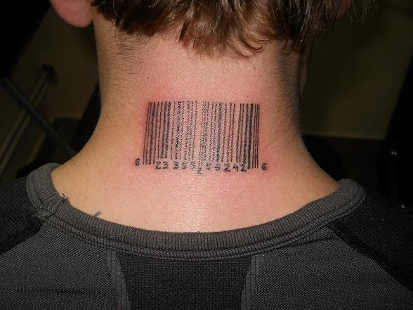 Tatuaż Kodkreskowy Na Tatuaże Zszywkapl