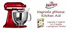 Pochwal się swoim ulubionym daniem z użyciem dowolnych mrożonych warzyw marki Hortex i wygraj Kitchen Aid!