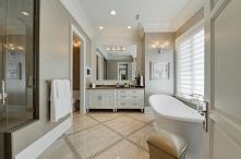 Łazienka w amerykańskim stylu - zobacz jak wygląda luksusowa łazienka w domu ...
