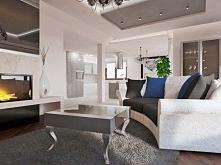 Projekt wnętrza ekskluzywnego, stylowego  domu w pobliżu Bydgoszczy, zaprojektowany przez pracownię Bohema Design z Bydgoszczy. We Wnętrzu salonu znalazł się stylowy, odnowiony ...