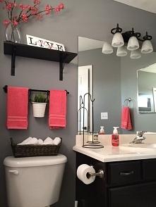 Jak zaaranżować małą przytulną łazienkę - kliknij i zobacz więcej pomysłów.