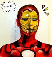 Iron Man :D Namalowany na m...
