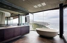 Nowoczesny dom Cove 3 house w RPA i nowoczesna łazienka w tymże domu - łazien...