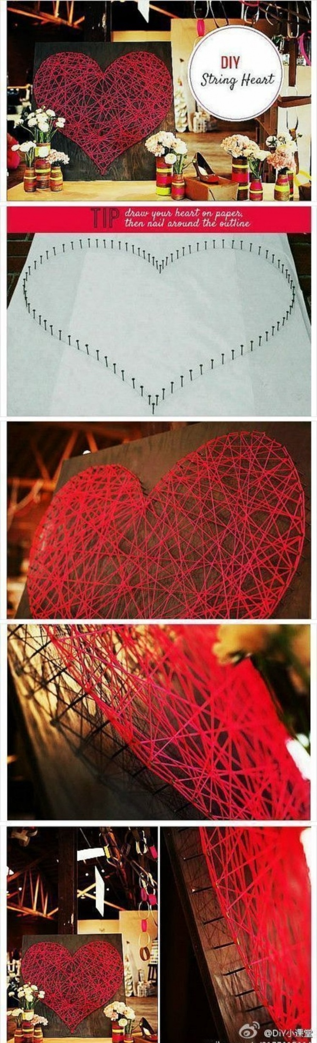 Zjawiskowa dekoracja - serce