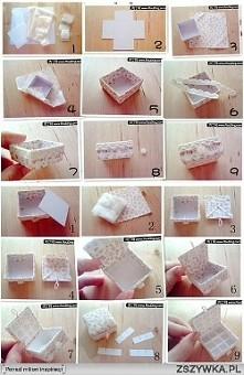 fajny pomysł na pudełeczko