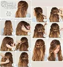 Upięcie dla długich włosów