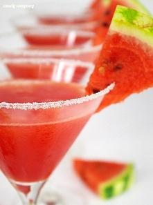 Musujący drink z arbuzem