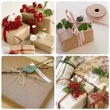 Oryginalne pakowanie prezentów - zobacz więcej klikając w zdjęcie