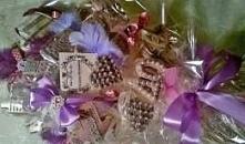 Słodki bukiet z pierniczków, oryginalny prezent na 40 urodziny. W środku mały...