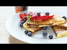 Przepis na Nutella Pancakes