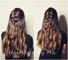 facebook : Hairstyle by Mk