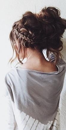 Piękna fryzura, jakbym umia...