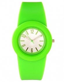 Neonowy zegarek :D