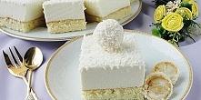Ciasto Rafaello  Składniki:      Biszkopt:     3 jajka     3 łyżki cukru     ...