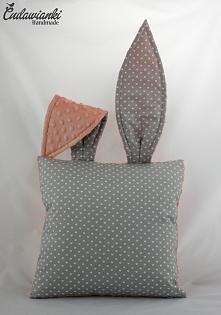 poduszka zając fb Cudawianki Handmade