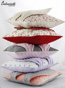 poduszki z uszami fb Cudawianki Handmade
