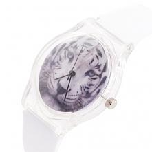 Zegarek Tygrys biały