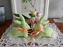 Króliczki handmade