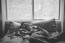 Najlepiej jest kiedy budzisz się rano, odwracasz głowę, a tam cały twój świat