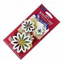 Zestaw plastikowych foremek (wykrawaczy) w kształcie kwiatków (3 sztuki) - Mason Cash