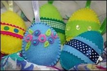 Wielkanocne dekoracje ~ Z szafy od Żyrafy