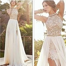 Elegancka sukienka 2 w 1