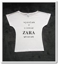 Koszulka ręcznie malowana/ ...