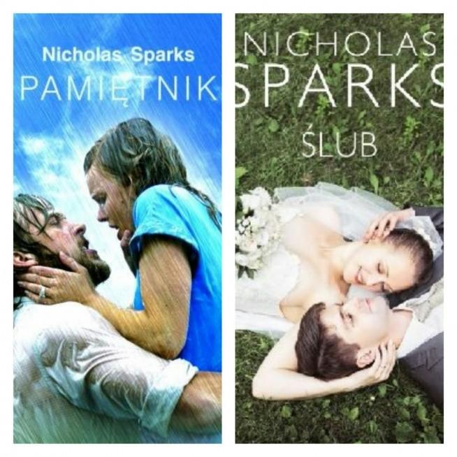 Nicholas Sparks Pamietnik I Jego Kontynuacja Slub Swietne Ksi Na