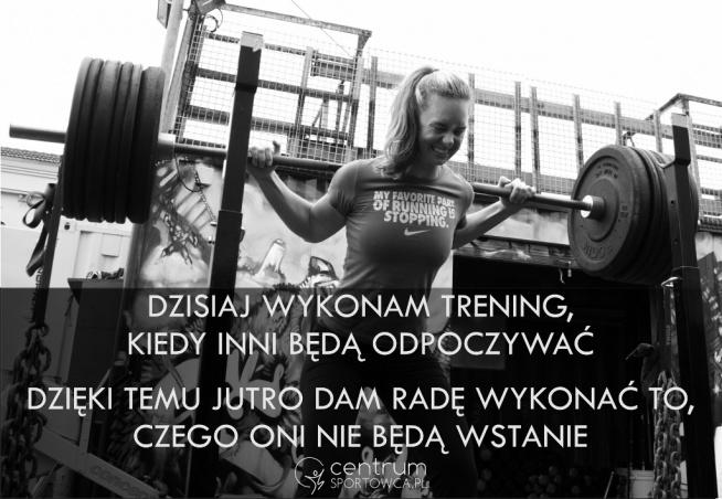 Pokaż na co Cię stać! Odwiedź CentrumSportowca.pl, wybierz trening i zaczynamy.