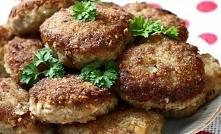 Kotleciki mielone z pieczarkami i cebulą 0,5 kg mięsa mielonego 400 g pieczar...