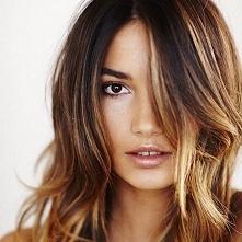 W jaki sposób uzyskać podobny efekt na włosach? Ktoś wie ;). JAK DLA MNIE- ID...