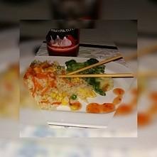 Mój dzisiejszy urodzinowy obiadek ♡ *po chińsku i Na ostro