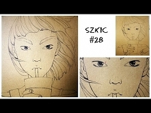 SZKIC #28 NOT FROM STARBUCKS DRINK | sketchbook challenge