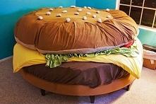 Łóżko hamburger