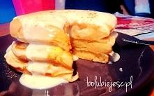 Pyszne pancakes jabłkowe - idealne na śniadanie.   (przepis-klik w zdjęcie)  ...