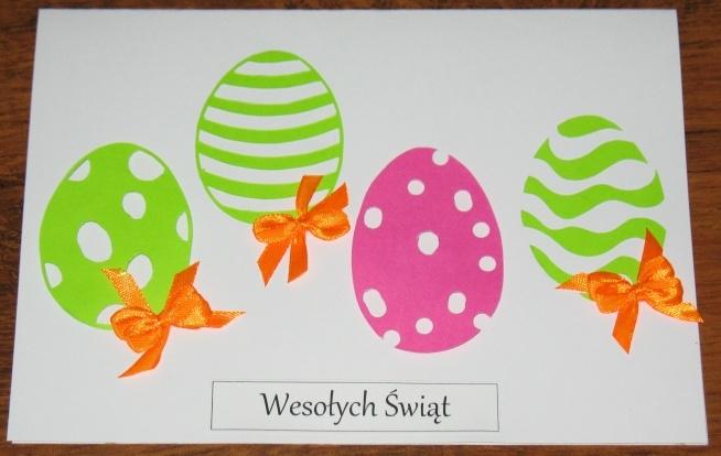Wielkanoc już niedługo, więc i czas na kartki świąteczne ręczni ...