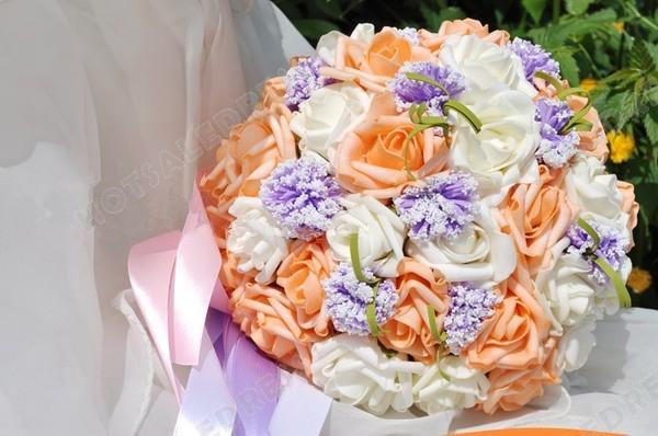 Simulation 30 Flower Roses Bouquets Wedding Flowers Bridal Bouquets Decorative Flower