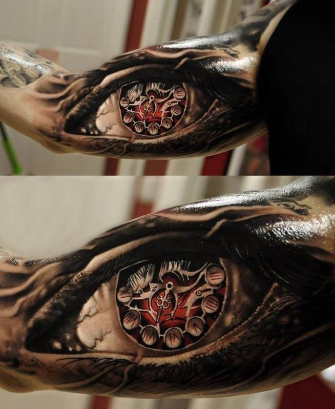 Zegar Oko Na Tatuaże Zszywkapl