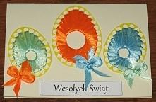 Wielkanoc już niedługo, więc i czas na kartki świąteczne ręcznie robione :) przedstawiam kilka moich propozycji.