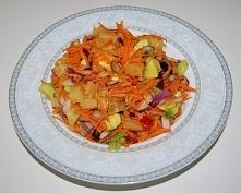 sałatka z marchewki i awokado