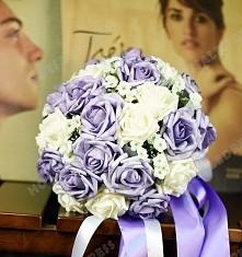 Classic Simulation 30 Flower Roses Bouquets Wedding Flowers Bridal Bouquets D...