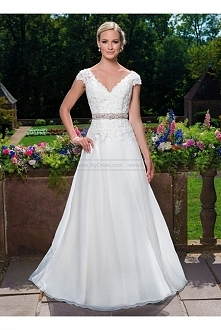 Sincerity Bridal Wedding Dresses Style 3860