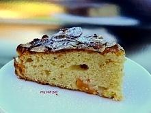 Ciasto brzoskwiniowo migdałowe, dziecinnie proste w przygotowaniu.