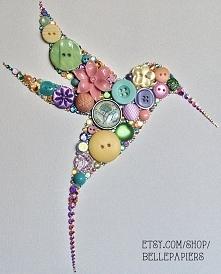 koliber z guzików